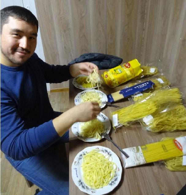 Kazakhstan pasta